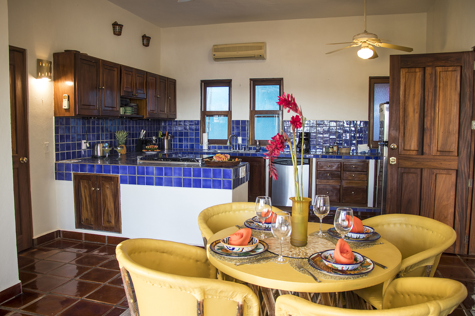 Oro Apartment Kitchen - Rental San Pancho