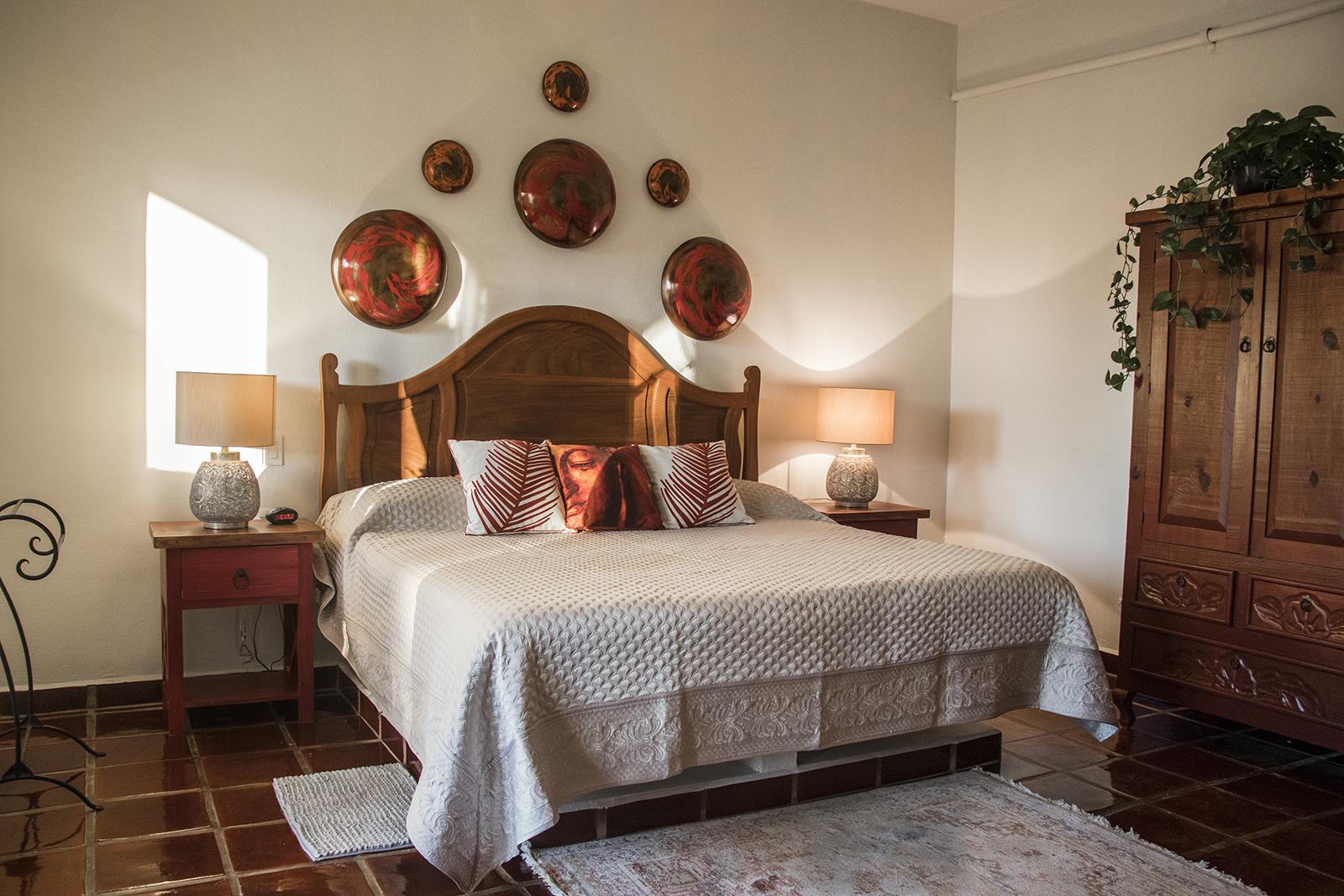 Fuego King size bed - San Pancho, Mexico