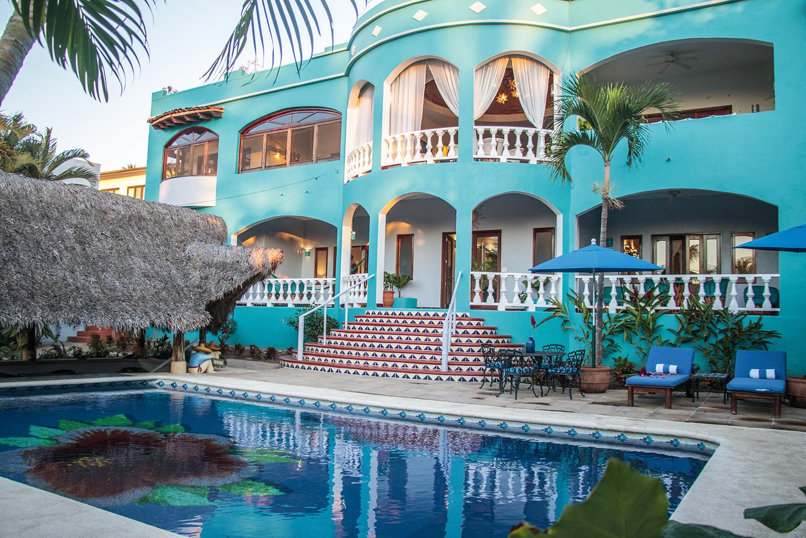 Casa Aqua Bella - Vacation Rental House - San Pancho, Nayarit, Mexico